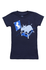 Runnin' Rhino, Lil' Girly + Threadless Collection
