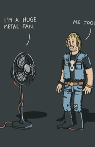 Metal Fan Hero Shot