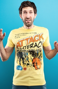 Attack of Literacy!, New and Top Selling Pop Culture T-Shirts + Threadless Collection