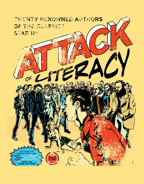 Attack of Literacy! Hero Shot