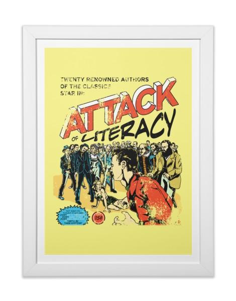 Attack of Literacy! Hero Shot