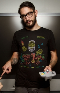 Playing God, New and Top Selling Video Game T-Shirts + Threadless Collection