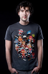 Ninjas vs Luchadores, New Designs and Recent Reprints + Threadless Collection