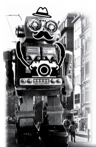 Mr. Roboto Goes Sightseeing Hero Shot