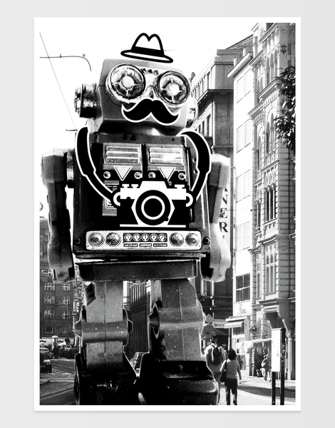 Mr. Roboto Goes Sightseeing Hero Shot