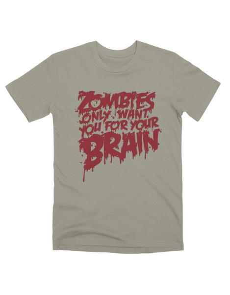 Zombies only want you for your brain Hero Shot
