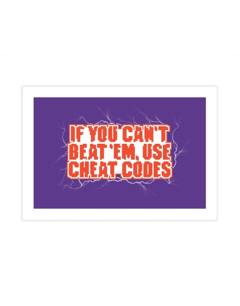 If you can't beat 'em, use cheat codes Hero Shot