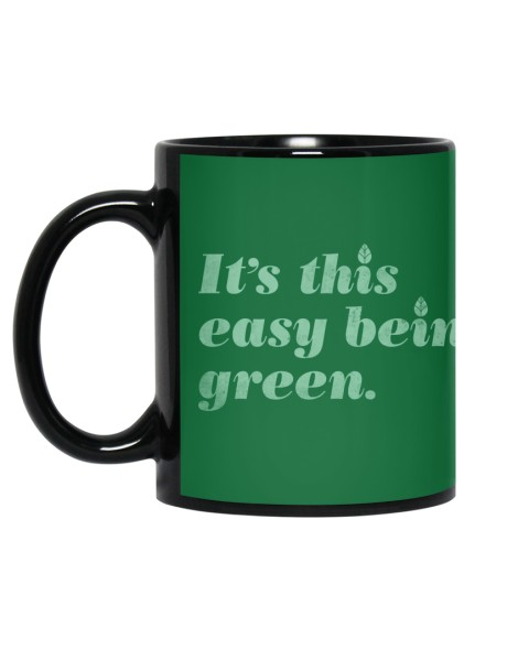 It's this easy being green. Hero Shot