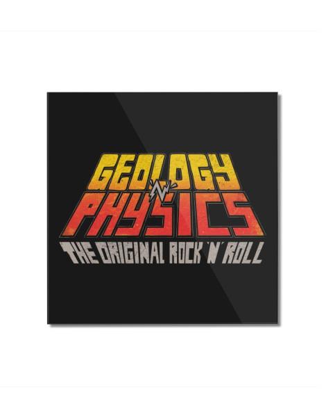 Geology n' Physics: The original rock n' roll Hero Shot
