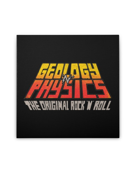 Geology n' Physics: The original rock n' roll Hero Shot