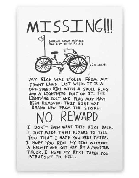 Missing!!! Hero Shot