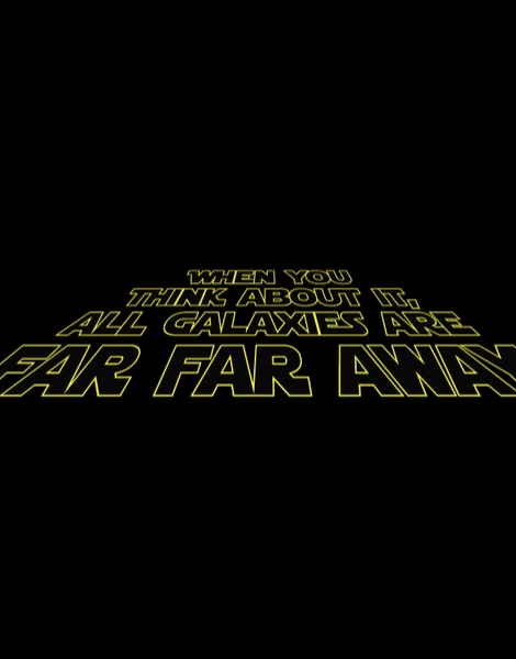 When You Think About It, All Galaxies Are Far, Far, Away Hero Shot