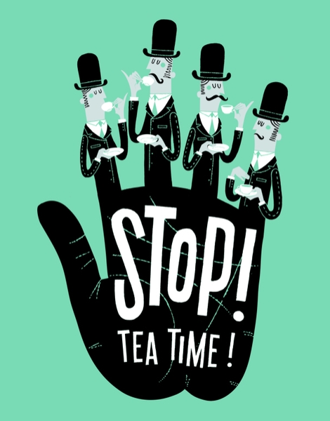 Stop! Tea Time! Hero Shot