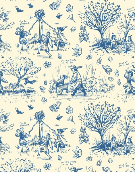 It's Toile About You Hero Shot