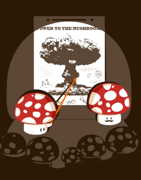 Power to the Mushroom Hero Shot