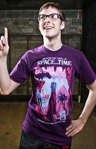 Space and Time, For Sci-Fi Nerds + Threadless Collection
