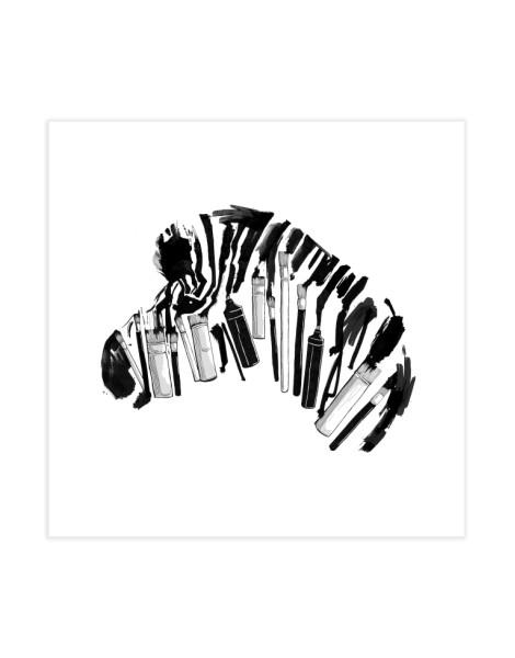 Brushes and Zebra Hero Shot