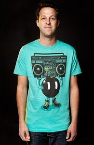 Boom Box, New and Top Selling Music T-Shirts + Threadless Collection