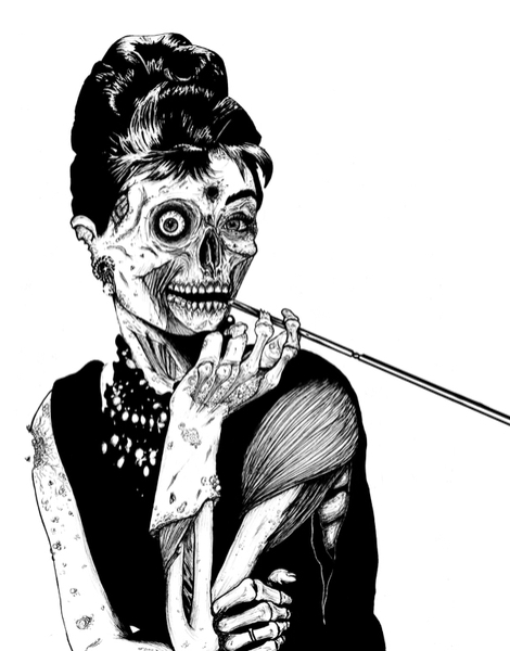 Zombie at Tiffany's Hero Shot