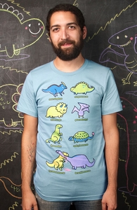 Know Your Dinosaurs, For Funny Guys and Gals + Threadless Collection