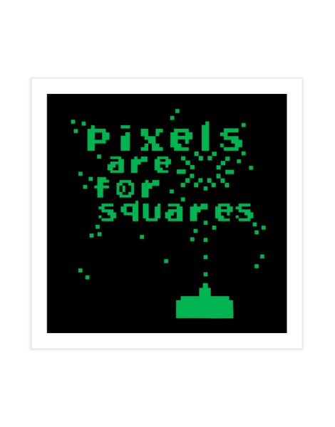 Pixels Are For Squares Hero Shot