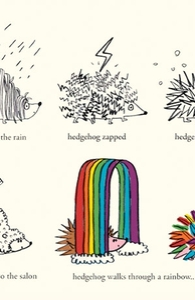 Hedgehog Goes Rainbow