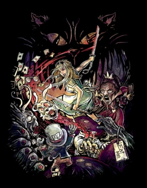 Zombies in Wonderland Hero Shot
