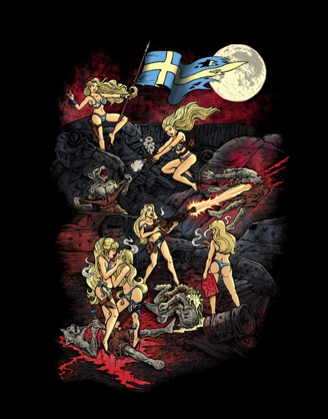 SWEDISH BIKINI WEREWOLF DESTRUCTION UNIT Hero Shot