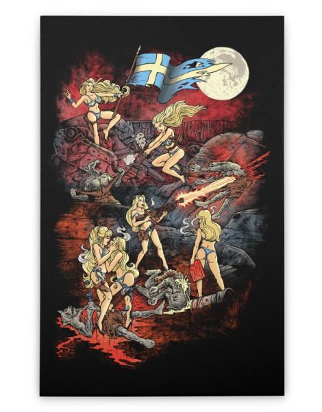 SWEDISH BIKINI WEREWOLF DESTRUCTION UNIT Hero Shot