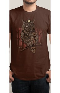Mechanic-owl King, Was $12.95 - Now $8.99! + Threadless Collection