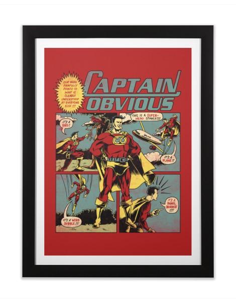 Captain Obvious! Hero Shot