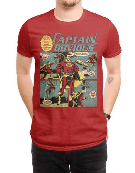 Captain Obvious! Hero Shot
