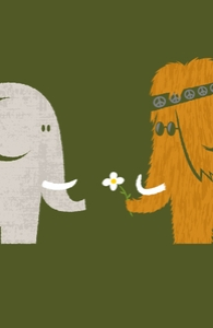 Mammoths were Hippies