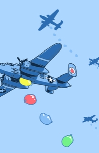 B-25 Waterbombers, Aled's Designs + Threadless Collection