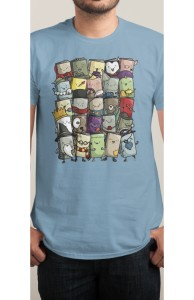 Storytellers, Babies + Threadless Collection