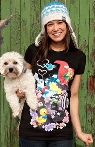 Cute Animals Smoking Cigarettes, Animal Tees + Threadless Collection