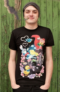 Cute Animals Smoking Cigarettes, Was $9.95 - Now $8.99! + Threadless Collection