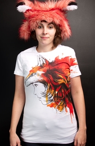 Lady Fox, Was $12.95 - Now $8.99! + Threadless Collection
