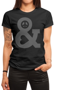 Peace and Love, $14.99 Tees! + Threadless Collection