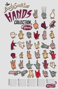 The Body Snatcher Hands Collection Hero Shot