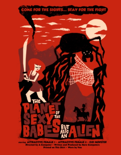 B-Shirt Hero Shot