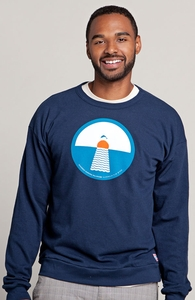 Leaping Dolphins, Select Guys Terry Pullover, Guys Select + Threadless Collection
