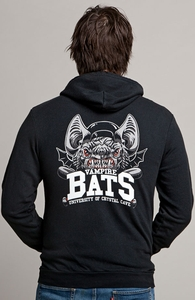 Vampire Bats, Select Guys Terry Hoody, Guys Select + Threadless Collection