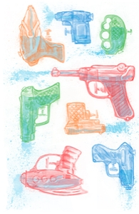 Watercolor Waterguns
