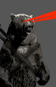 Laser Bear FTW Hero Shot