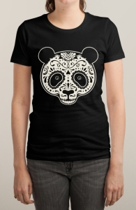 Day of the Dead Panda, Animal Tees + Threadless Collection