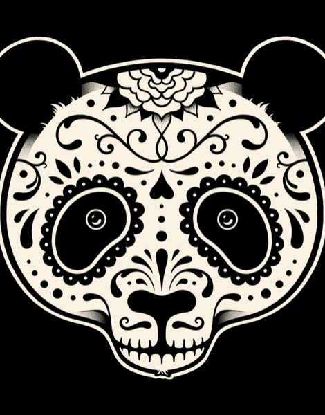 Day of the Dead Panda Hero Shot