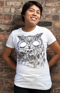 Owltical Illusion, Was $12.95 - Now $8.99! + Threadless Collection