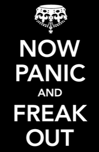 Now Panic and Freak Out: iPad Case