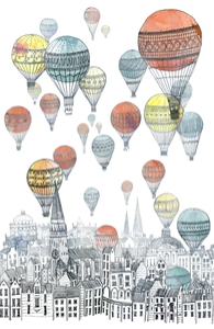 Voyages Over Edinburgh, David's Designs + Threadless Collection